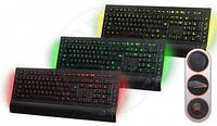 Клавиатура HQ-Tech KB-327F USB Multimedia (Red/Green/Yellow LED)
