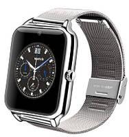 Smart watch (умные) наручные часы Z50 Silver, часофон с sim картой