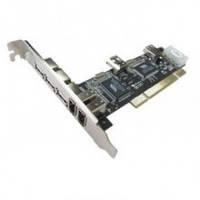 Контролер PCI IEEE1394 2x1394а + 3xUSB2.0AF STLab F-116