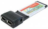 Контроллер ExpresCard на IEEE1394 2port (52873)