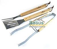 Набор инструментов для барбекю/гриля из нержавеющей стали (3пр./наб.) Stenson (MH-0166)