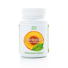 Абрикотаб КоралКлаб -для  иммунитета и общему оздоровлению организма, 60 жевательных таблеток