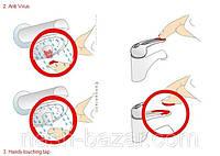 Насадка на кран для экономии воды (аэратор) one touch tap,гигиена,для кранов с внутренней резьбой