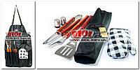 Набор инструментов для барбекю - передник (фартук) 7пр. Stenson MH-0168