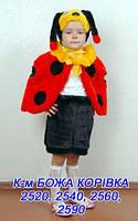 Детский карнавальный новогодний маскарадный костюм Божья коровка
