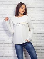 Кофта женская с кнопками на спинке p.42-48 VM2057-4