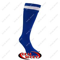 Гетры футбольные FB020121 (носок-махра, х-б, верх-нейлон, р-р 40-45, синий)