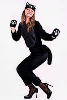 Кот черный карнавального костюма