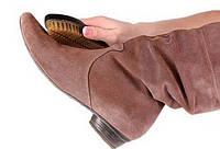 Как чистить обувь из нубука?