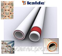 Полипропилен труба Kalde Fiber d32 pn20 (стекловолокно)