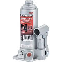 Домкрат гидравлический бутылочный, 3 т, h подъема 194–372 мм// MTX MASTER