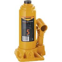 Домкрат гидравлический бутылочный, 5 т, h подъема 195-380 мм// SPARTA 50323