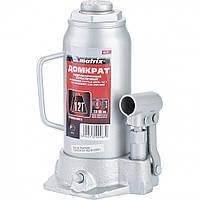 Домкрат гидравлический бутылочный, 12 т, h подъема 230–465 мм// MTX MASTER  50727