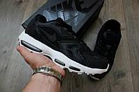 Кроссовки спортивные мужские молодежные Nike Air Max 96 XX Black/White (Топ качество, найк, реплика)