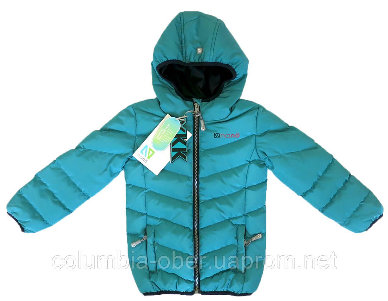 Демисезонная куртка для девочки NANO F17 M 1250Baltic. Размеры 104-138.