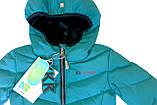 Демисезонная куртка для девочки NANO F17 M 1250 Baltic. Размер 112., фото 2