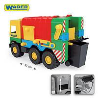 Машинка middle truck мусоровоз wader 39224
