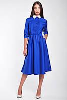 Модное женское платье с рубашечным верхом, фото 2