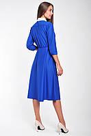 Модное женское платье с рубашечным верхом, фото 3