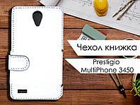 Чехол книжка для Prestigio MultiPhone 3450