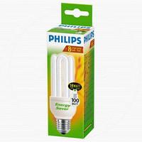Энергосберегающая лампа Philips E27 18W 220-240V 2700K Genie (2+1) (8727900536058)