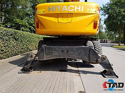 Колесный экскаватор Hitachi ZX210WE (2010 г), фото 2