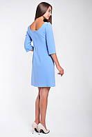 Нарядное женское платье с гипюровой аппликацией, фото 2