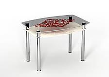 Стол стеклянный двухполочный Sentenzo Барокко