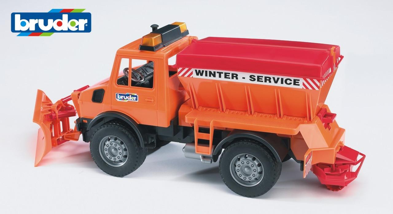 Игрушка Bruder- снегоуборочный автомобиль 2572 MB Unimog