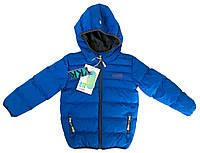 Демисезонная куртка для мальчика NANO F17 M 1251Blue Jay . Размеры 86 - 152.