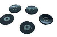 Кнопка центральная iPad 3 Black (пластиковая)