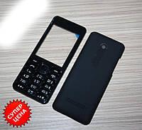 Корпус Nokia 206 C Клавиатурой Чёрный