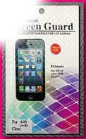 Плёнка Для Apple Iphone 4 4S Глянцевая 2В1