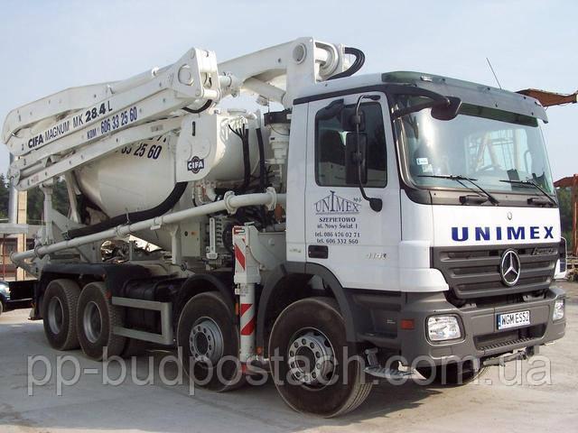 Перевозка бетонной смеси в холодную погоду