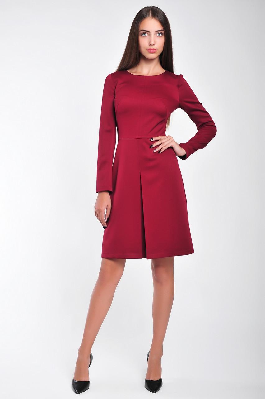 6d98f27f9a8 Офисное платье с длинным рукавом. - Интернет-магазин женской одежды