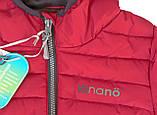 Демисезонная куртка для мальчика NANO F17 M 1251Salsa Red. Размер 152/158., фото 3