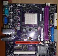 Плата под AMD Sam2 GeForce6100PM-M2 V2.0  Понимает ЛЮБЫЕ 2-4 ЯДРА ПРОЦЫ X2,X3,X4 до PHENOM X4 9750 89W! am2+
