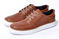 Туфли мужские кожаные рыжий