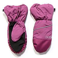 Рукавицы - краги для девочки Nano F17 MIT 201Antic Pink. Размеры 12/24мес,2/3х -12/14.