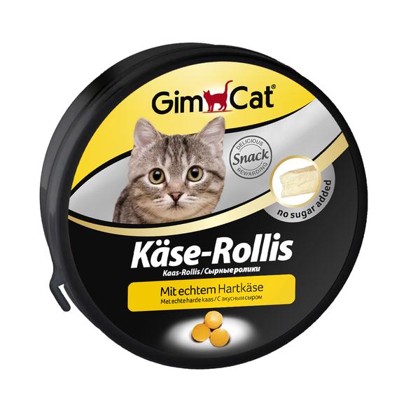 Gimpet KASE-ROLLIS 50 гр/100 шт - сырные шарики - витаминизированное лакомство для кошек