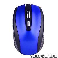 Беспроводная мышь+usb reciver, 6-кн, ZLY4122001C,office, blue, art001031