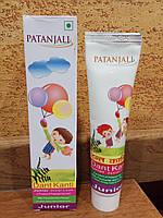 Детская зубная паста Dant Kanti Junior - можно детям младше 6 лет, аюрведа,натур.состав,100 гр Индия Patanjali