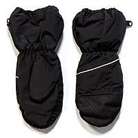 Рукавицы - краги для девочки Nano F17 MIT 201 Black. Размеры 12/24мес,2/3х -12/14.