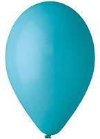Воздушный шар без рисунка 13 см бирюзовый