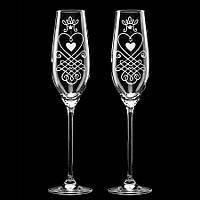 Свадебные бокалы со стразами Swarovski , арт.Y-S4