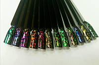 Втирка для ногтей хамелеон  хлопья юки, фото 1