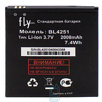 Аккумулятор Fly BL4251 2000 mAh IQ450 AAA класс