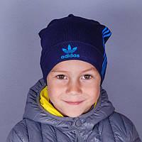 Головной убор для мальчиков Осень Шапка Adidas Трикотаж 1744 Китай