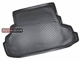 Коврик в багажник для Bmw 3 F30 с 2011, цвет:черный