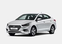 Авточехлы Hyundai Accent с 2017... EMC Elegant